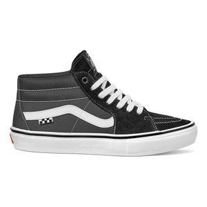 Skate SK8-Mid Black/True Whit G625