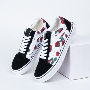 Old Skool Red Roses Tru 95KO