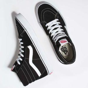 Classics SK8-Hi Black/Black/White IB8C
