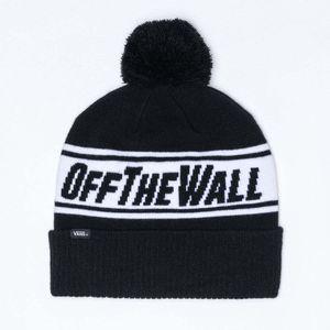 Beanies Off The Wall Pom BLACK/WHITE 7Y28